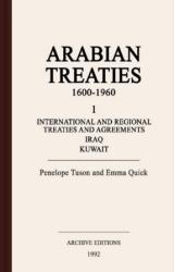 Arabian treaties, 1600-1960