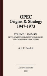 OPEC : origins & strategy, 1947-1973