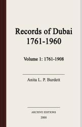 Records of Dubai, 1761-1960