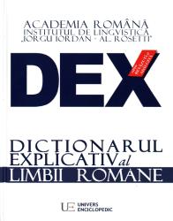 DEX : dicţionarul explicativ al limbii române
